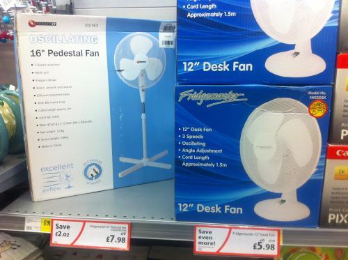 12 Desk Fan 5 98 Morrisons In
