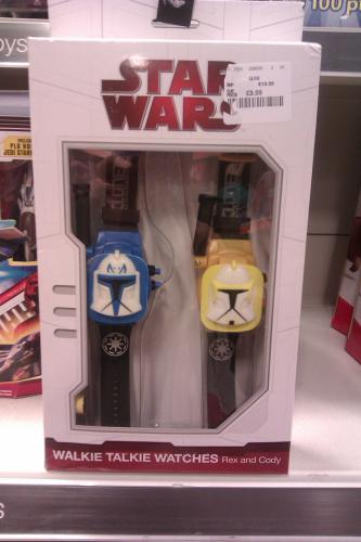 Star Wars Walkie Talkie Watches - £9.99 @ TK Maxx (Instore) (Kilmarnock)