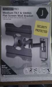 Technika Medium Tilt & Swing Flat Screen Wall Bracket - £5 @ Tesco (Instore)