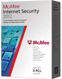 mcafee internet security 2012 3 user 14.99 Saverponit