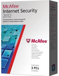 mcafee internet security 2012 3 user 14.99 Saverponit