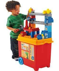 Mega Bloks Construction Build 'n' Play Work Bench - Now £19.99 @ Argos