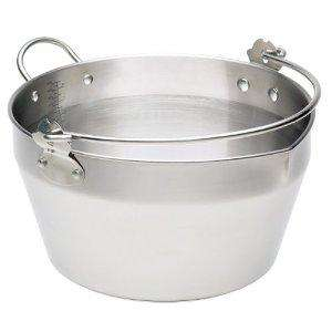 Stainless steel preserving /maslin pan £18.74 at Amazon