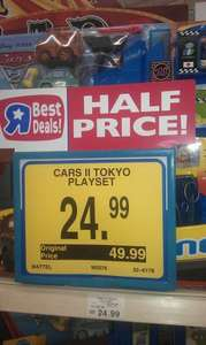 Imaginext Disney Cars 2 Tokyo Playset - £24.99 @ Toys R Us
