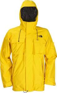 Men's Decagon Jacket by The North Face (Yellow) (Large) - £92.81 @ Snowboard Asylum