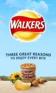 Free packet of Walkers Crisps + other prizes @ Facebook