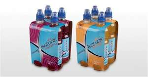 ALDI Isotonic Sports Drink (like lucozade Sport) £1.19 for 4 all the time