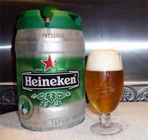5 Litre Heineken Keg - £3.99 @ ASDA