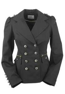 F&F Ladies Limited Edition Military Jacket - £17.50 @ Tesco Clothing