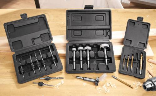 5 Piece Forstner Drill Bit Set - £2.99 @ Lidl (starts 3/10/11)