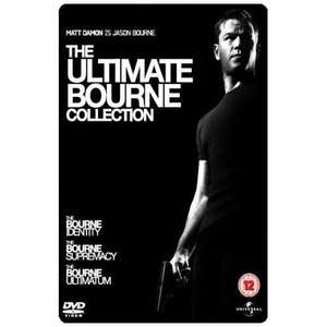 The Ultimate Bourne Collection (DVD) (3 Discs) - £2.82 Delivered @ Price Minister / Gzoop