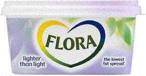 Flora Lighter than light 500g spread £1.00 at Asda
