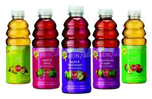 Heinz Baby Juices with Spring Water 4mth+ (750ml) for £1 @ ASDA (Normal selling price £1.67)