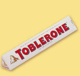 White chocolate toblerone 170g in poundland £1
