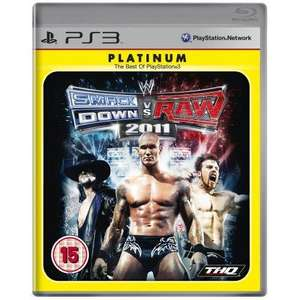 WWE Smackdown vs Raw 2011  Platinum Edition (PS3) £9.99 @ amazon