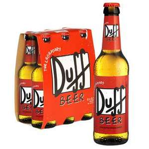 Duff Beer 6 Pack £9.99 or 24 Pack £24.99 @ Firebox.com