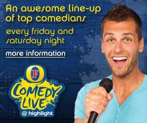 £1.01 'Highlight' Comedy Show Tickets @ The Highlight