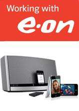 SAVE money on your energy bills with EON and Win a BOSE SoundDock and iPOD Touch 8GB
