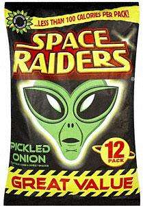 KP Space Raiders - Pickled Onion (12 pack) £1 in Tesco & Asda