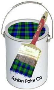 One Coat Tartan Paint, 2.5L Back to £9.95 per Tin FREE DELIVERY! @  Silly Jokes
