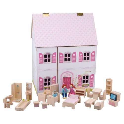 Carousel Wooden Dolls House - £40 @ Tesco Direct