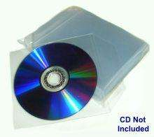 100 CD / DVD SLEEVES 95p Delivered @ Amazon / Uneek Batteries