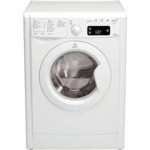 INDESIT IWE91480 1400 SPIN WASHING MACHINE 9kg load at Comet