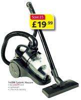 New Synergy Cyclonic Vacuum was £24.99 now £19.99 @ Poundstretcher instore