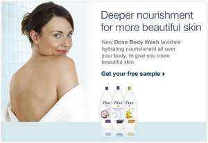Free Dove Sample (facebook offer)