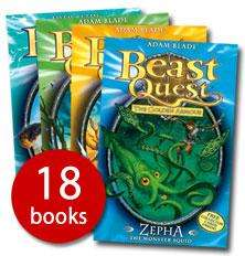 The Beast Quest Collection (Series 1 - 3) (18 Books) - £16 delivered (using code 241PLUS) @ The Book People