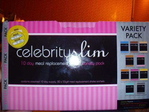 Celebrity Slim 10 day variety pack was 32.99 now £7.50 instore @ Superdrug