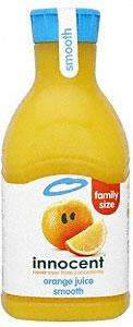 Innocent Juice 900ml @ Sainsburys  50p each with Coupons