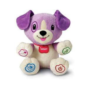 Leapfrog MyPal Violet talking teddy £13.49 at play.com free delivery