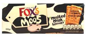 Fox's Moo's Malted Milk Biscuits - Big Value 3 x 200g pack for £1 in store at ASDA!!!
