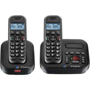 BT STUDIO+ 5500TW DIGITAL CORDLESS TELEPHONE WITH Answering Machine (Twin).  now £19.99 delivered with code BTPANA @ COMET