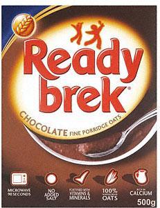 Ready Brek Chocolate Porridge Oats (500g) £1.88 each OR 2 boxes for £2 @ Asda