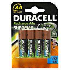 Duracell Rechargeable Accu Supreme 2650 mAh AA Batteries - 4-Pack now £5.99 @ Sainsburys click and collect (free delivery)