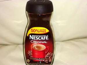 Nescafe Original Instant Coffee 300g (200g with 50% extra) £3 instore @ Asda