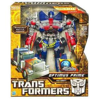 Transformers Optimus Prime Leader Series £24.99 B&M Bargains