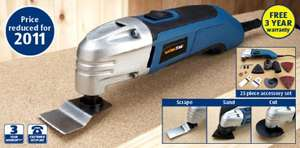 300W Multifunction Tool £29.99 @ Aldi (Similar to Bosch PMF180) 3 Year Warranty + Accessories Included from 20th Oct