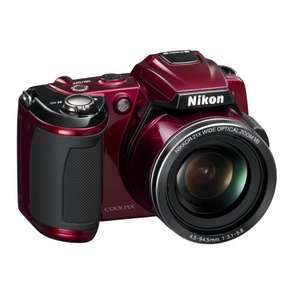 Nikon COOLPIX L120 £129.99 (Red) @ Argos