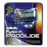 6 pack Gillette Fusion Proglide Blades £10.99 at Savers