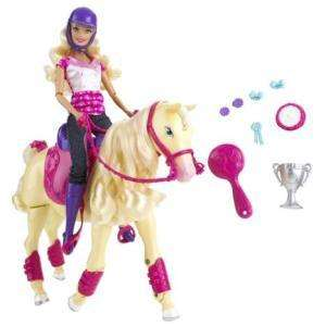 Barbie Champion Tawny Horse & Rider Set - IWOOT - £22.49 *** DON'T BUY - IWOOT sending wrong, inferior item ***