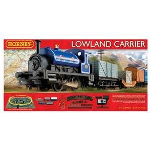 Hornby Train Set (Lowland Carrier) Half Price £60 at Tesco Direct