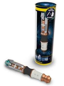 Doctor Who Sonic Screwdriver Wii Remote (Wii) £14.37 @ amazon