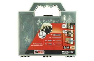 Black & Decker Molly Piranha Fixings Kit - 8mm - 125 Pieces £7.99 instore & online (+p&p) @ Homebase