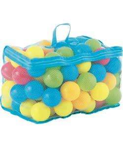 Chad Valley Bag of 100 Multi-Coloured Plastic Play Balls £3.74 @ Argos
