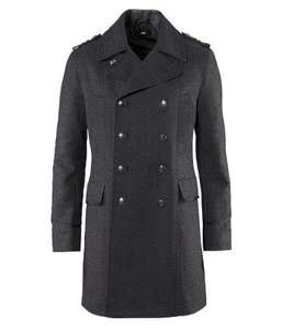 Men's Double-breasted Winter Coat, WAS £69.99, now £28.89 delivered (using codes)  @ H&M online