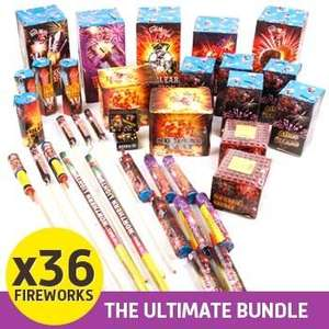 Strike Force - The Ultimate Fireworks Bundle - £35.48 Delivered @ Dealtastic