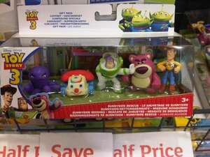 Disney Toy Story 3 Sunny Rescue Gift Set - Pk of 5 Figures - Now £5.99 @ Argos (Instore)
